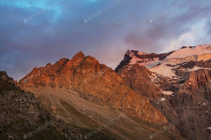 Fann mountains