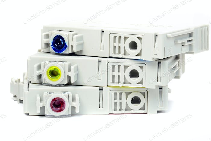 Used Colour Printer Cartridges