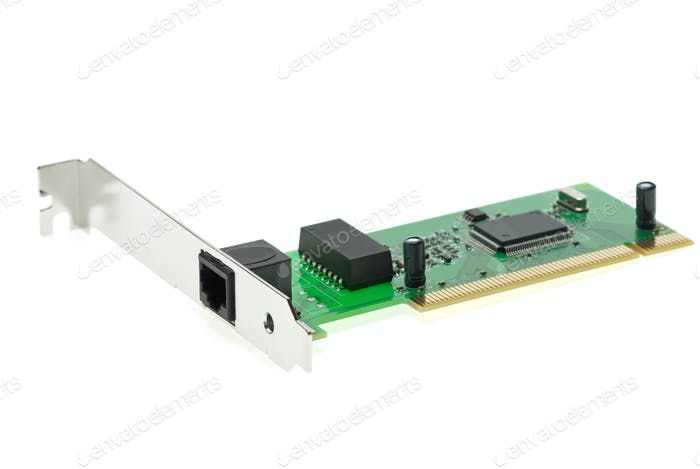 ISDN (or LAN ethernet) PCI adapter