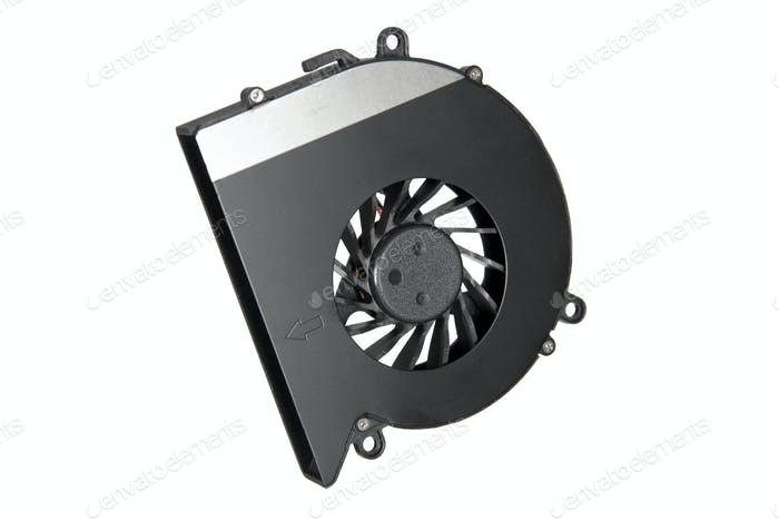 Cooler of laptop (isolated)