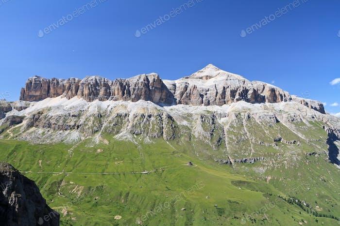 Dolomites - Sella mountain