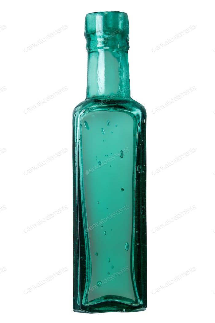Vintage Green Bottle