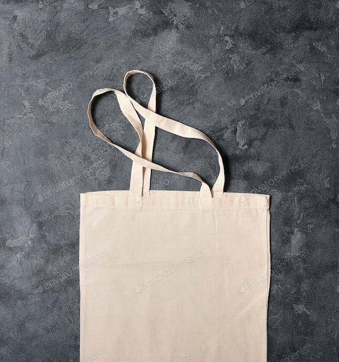 Empty Reusable Cotton Bag, Zero Waste