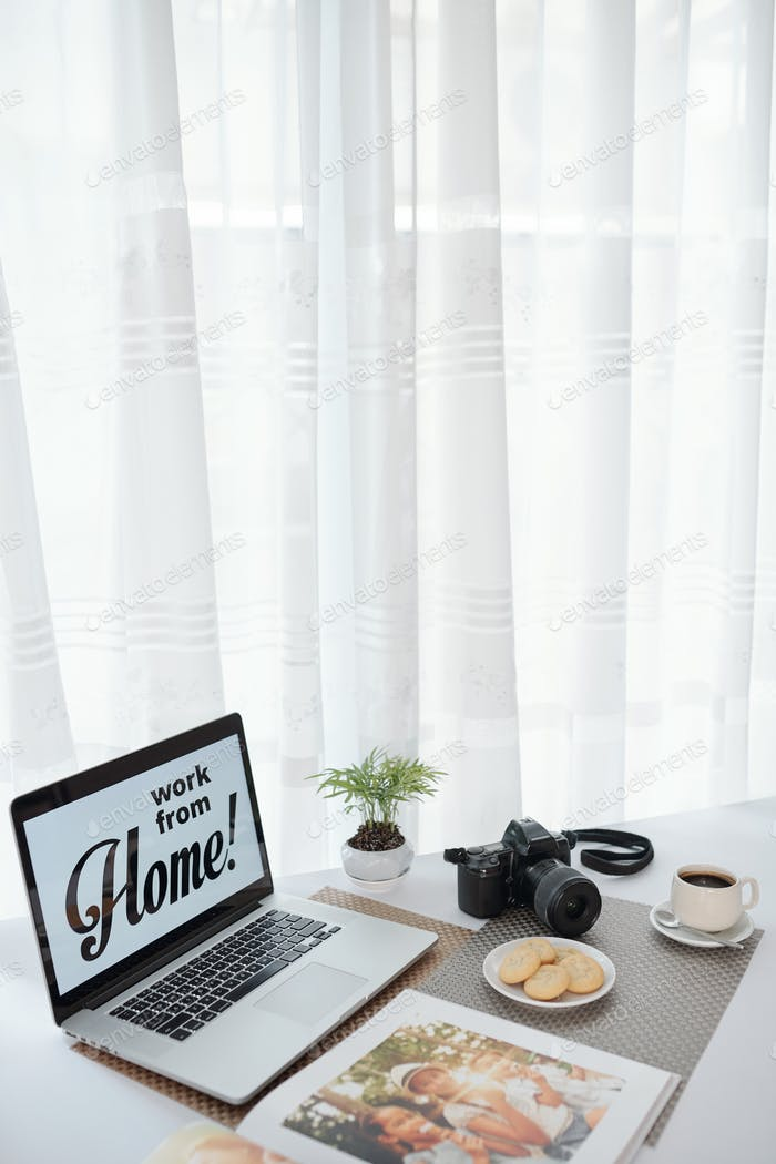 Work from home advice