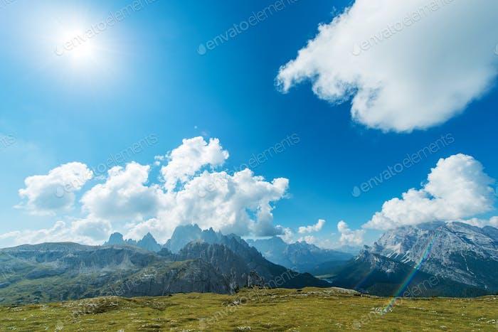 Dolomites Mountains Vista