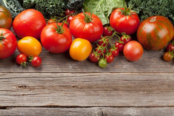 Fresh garden tomatoes