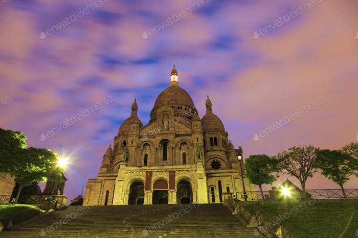 Basilica of the Sacred Heart in Paris