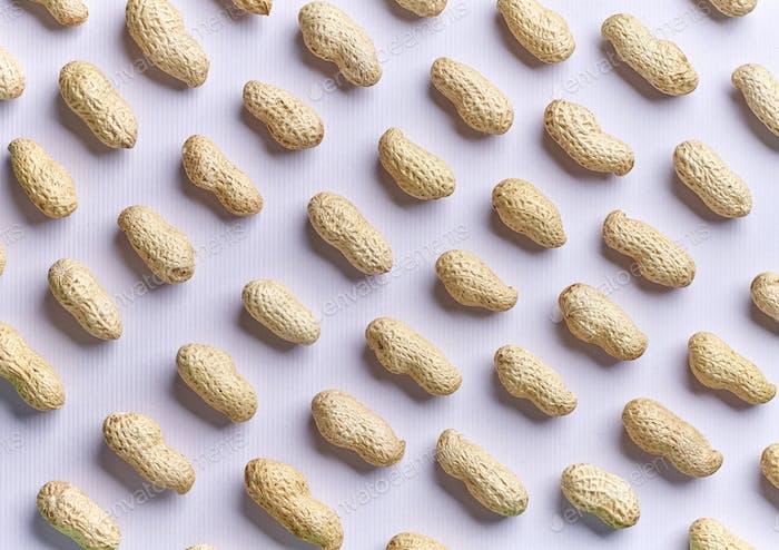 pattern of peanuts