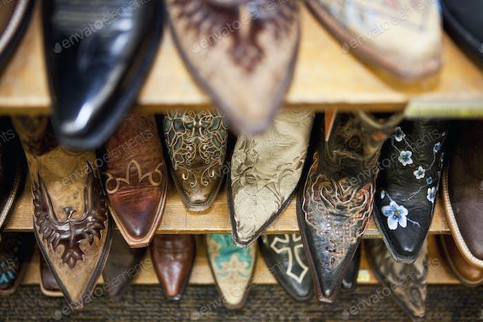 Sammlung von Cowboy Boots