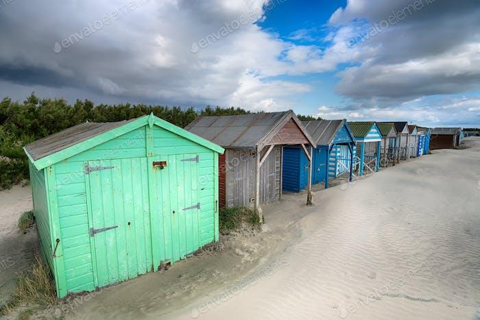 Strandhütten in Sussex