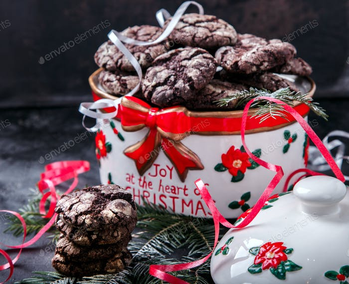 Christmas Cookies Chocolate