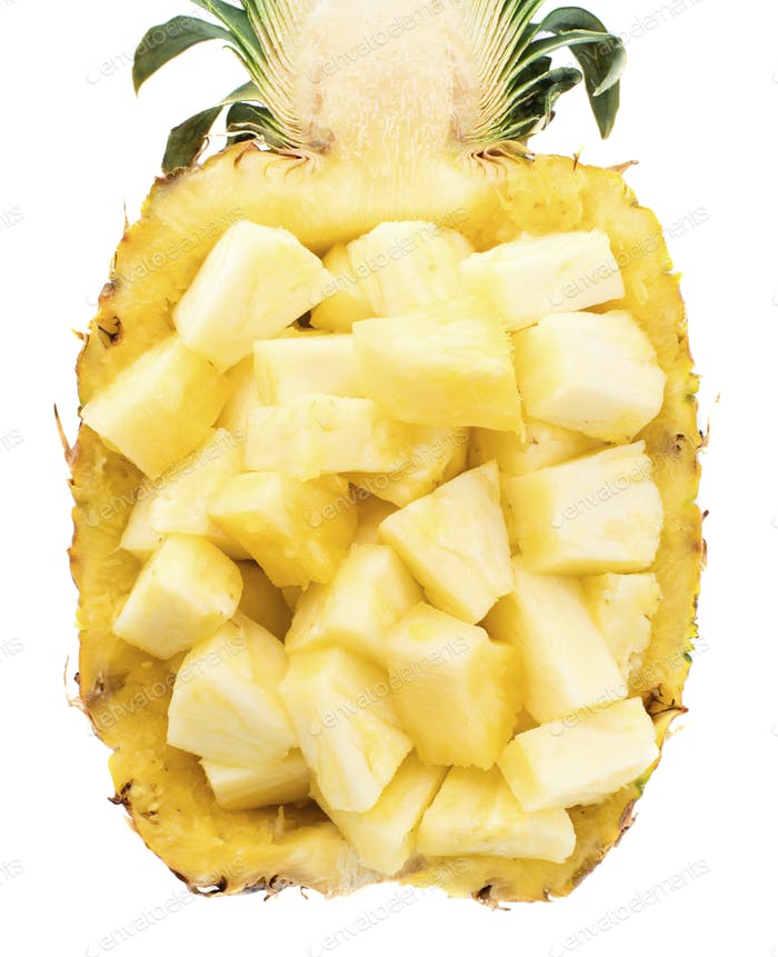 Choped pineapple
