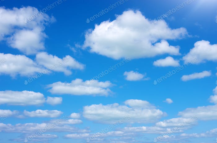 Blue sky at day
