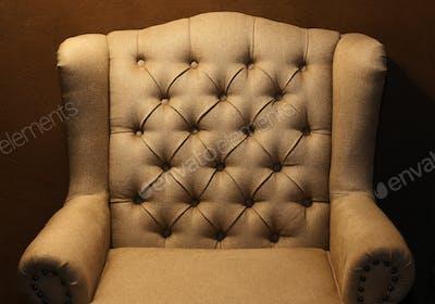 Chair-fabric arm chair