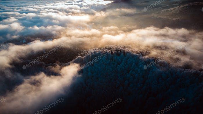 Breathtaking Mountains in Winter