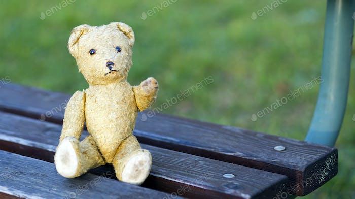 Retro Spielzeug Bär