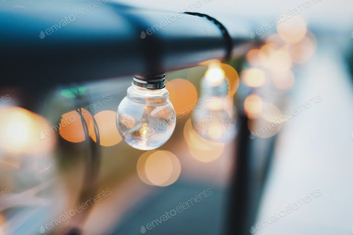 Beautiful nice retro luxury interior lighting lamp