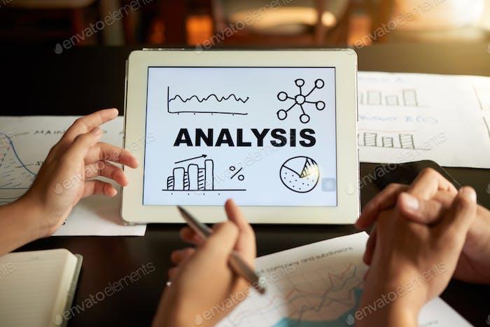 Präsentation der Analyse