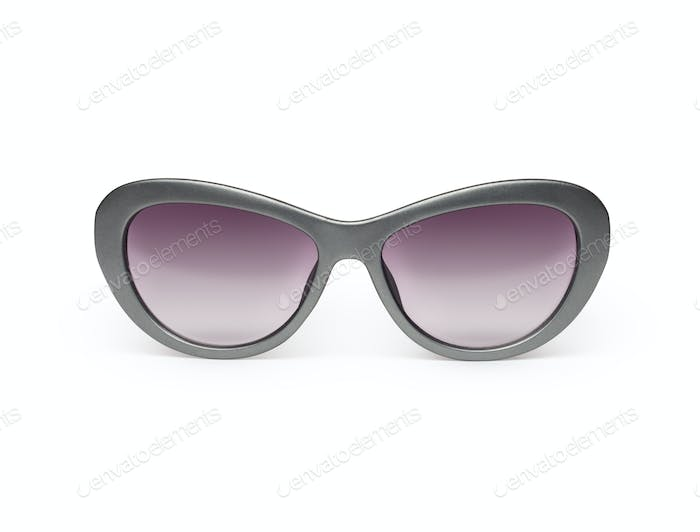 Sunglasses isolated against a white background