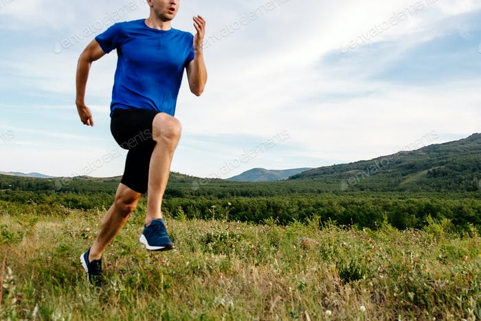 cross-country running