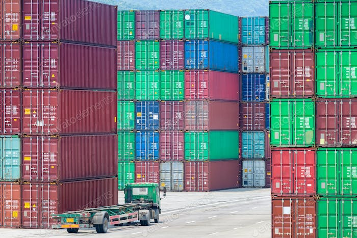 container stack yards