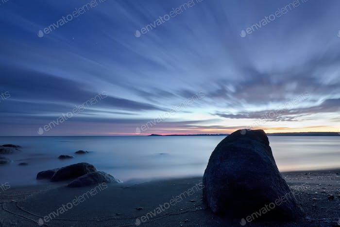 Sunrise in Vromos Bay