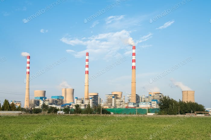 large coal-fired power plant