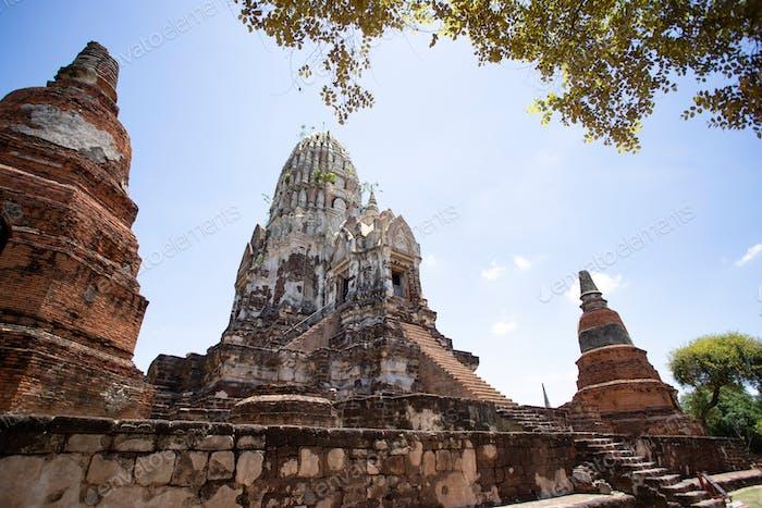Tempel Wat Ratchaburana, Ayutthaya, Thailand