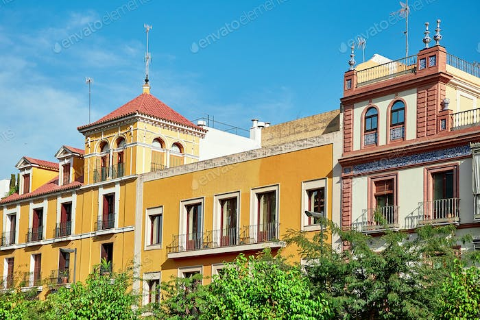 Street view of Sevilla