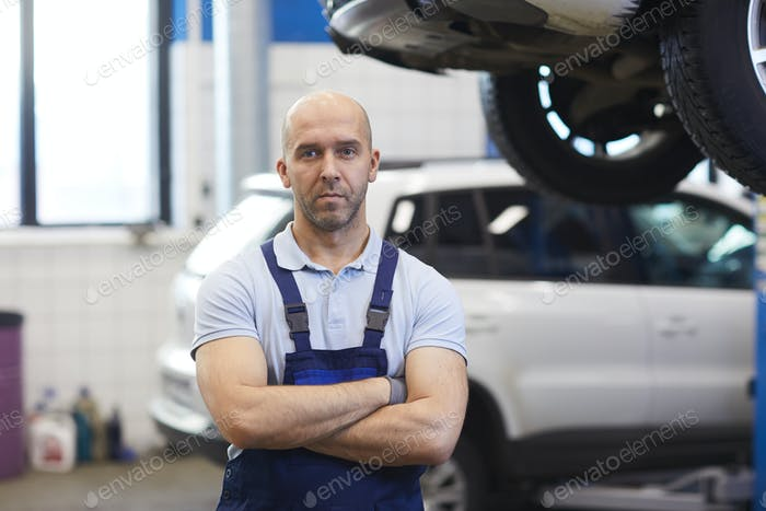 Mechanic in Auto Shop