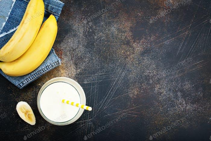 Bananengetränk