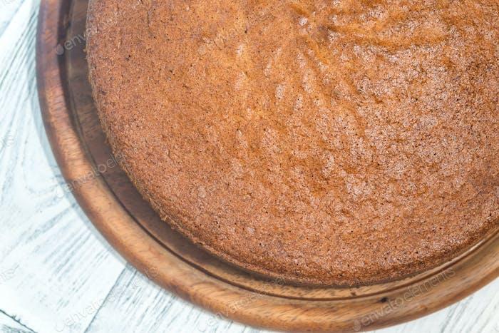 Amaretti pumpkin pie