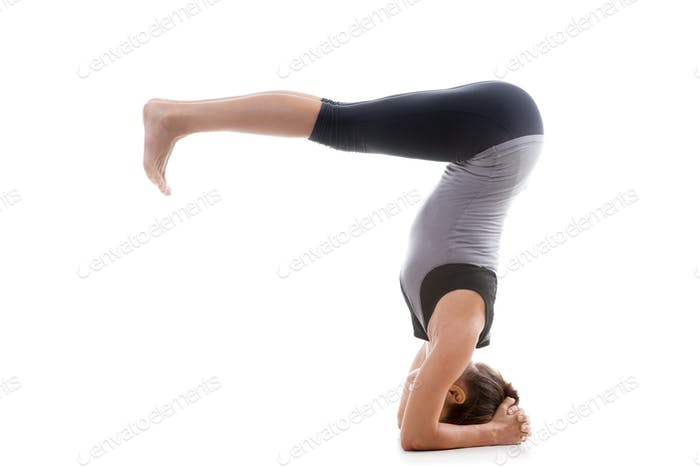 Pose shirshasana