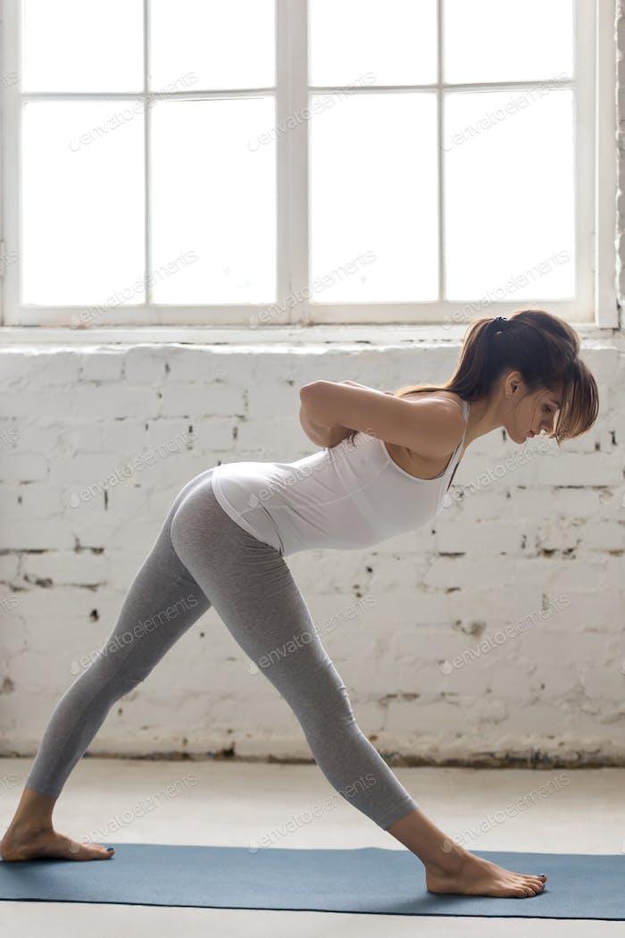 Yoga Indoors: Ardha Parshvottanasana Pose