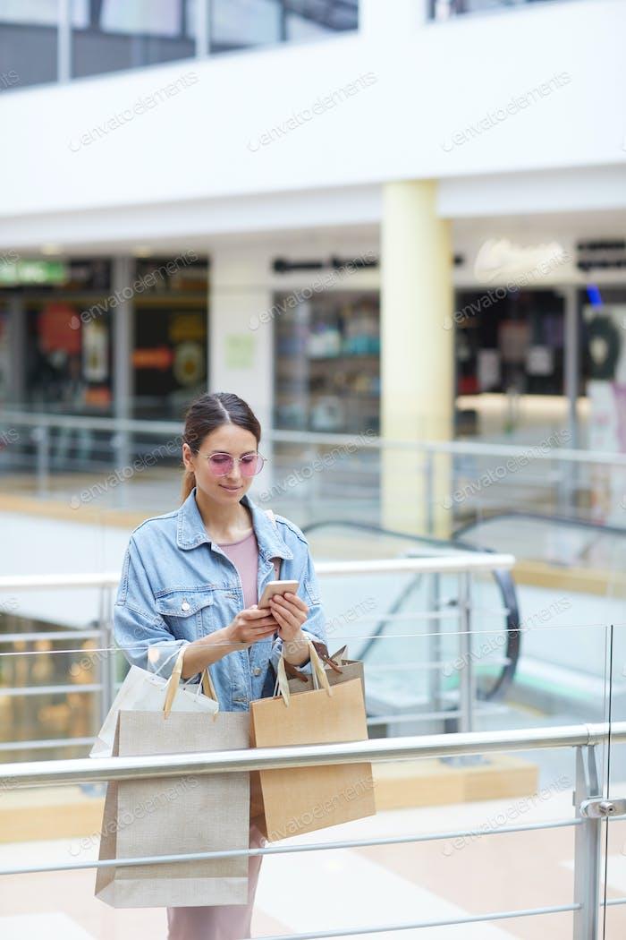 Post über das Einkaufen machen