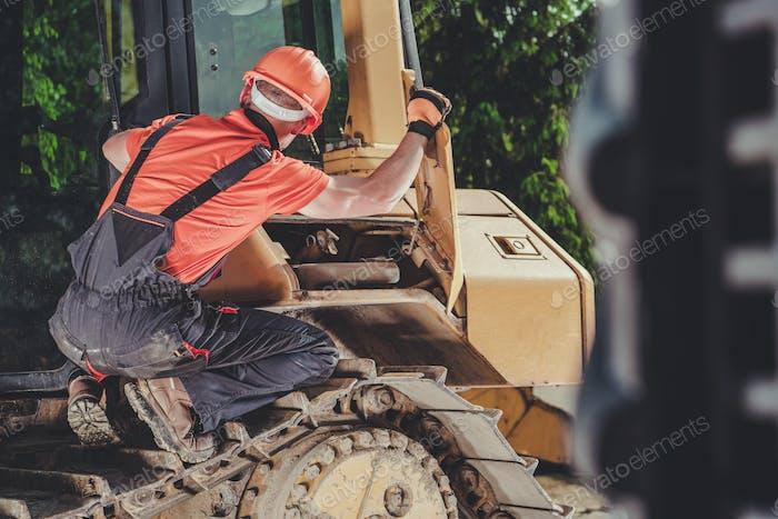 Mechanic and the Bulldozer