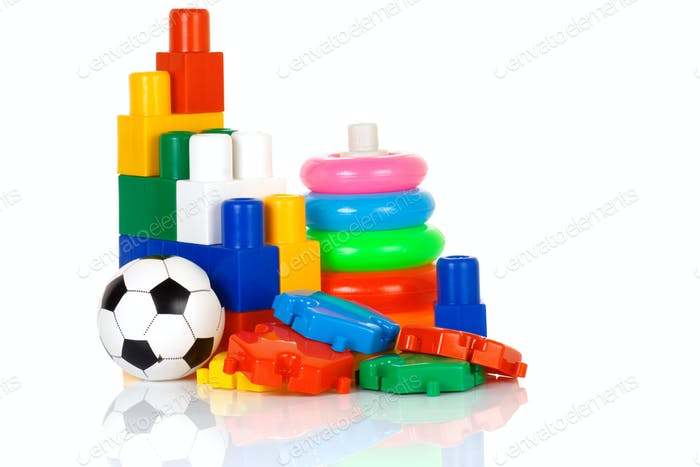 Thumbnail for colorful plastic toys
