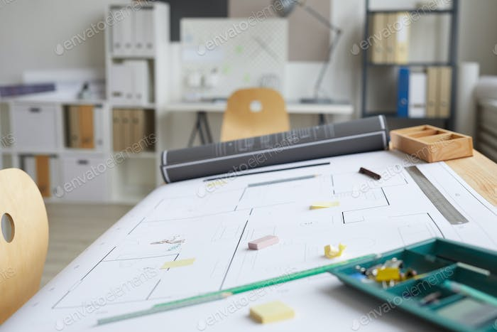 Plans on Architects Workplace