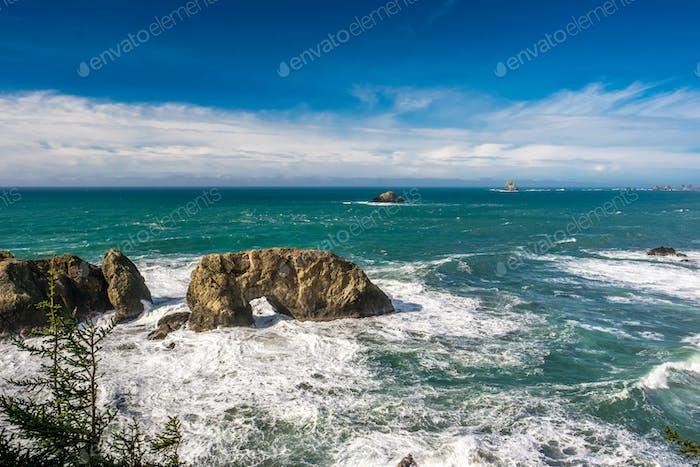 USA Pacific coast, Arch Rock, Oregon State