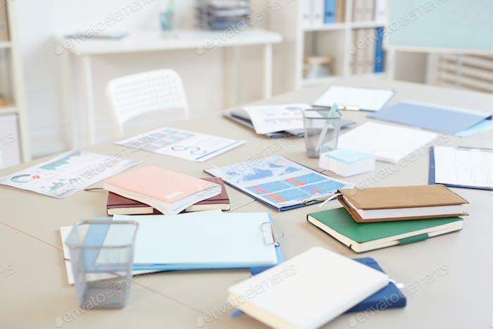 Background Image of Office Desk