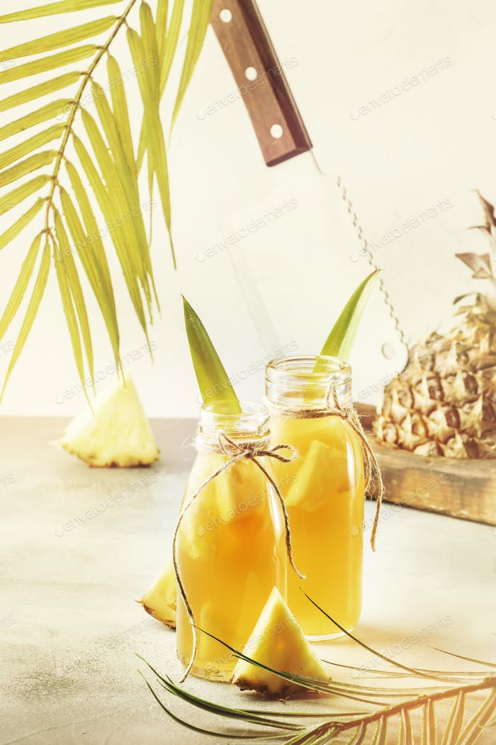 Fermented Pineapple Kombucha Drink - Tepache