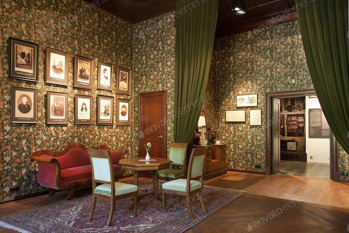 Old Fashioned Room at the Alatskivi Castle