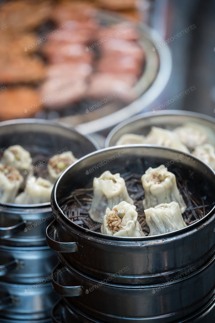 Delicious traditional chinese dumplings