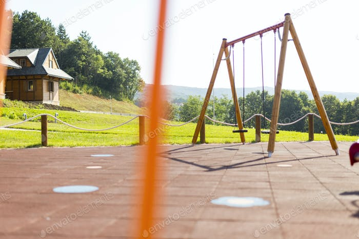 Beautiful playground for children