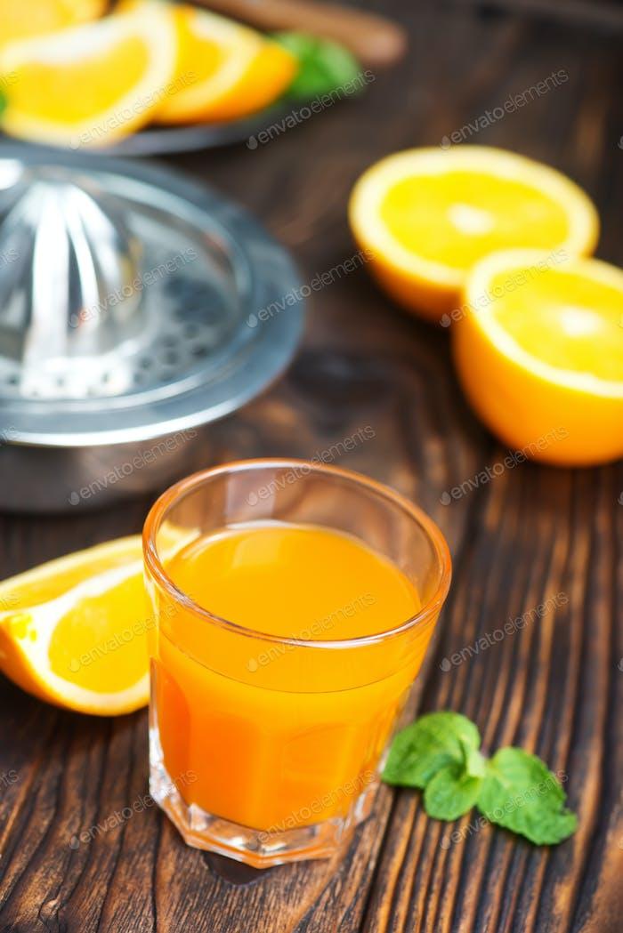 naranjas y frutas