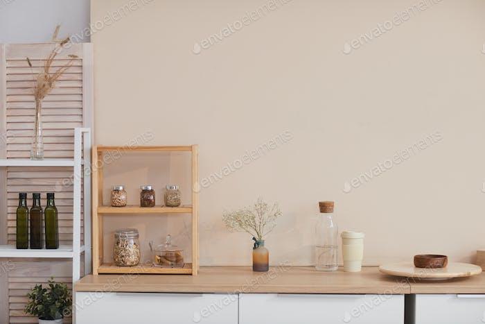 Minimal Kitchen Decor Background
