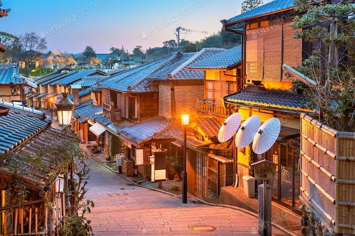 Higashiyama, Kyoto, Japan Alleyway