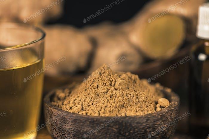 Ginger Powder and Tea