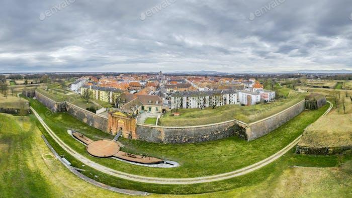 Neuf Brisach Alsace France