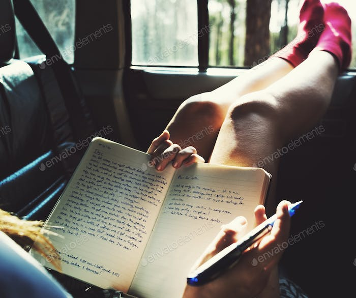 Reading Study Camping Car Hobby Concept